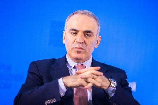 Garry Kasparov at the first Free Russia Forum in Lithuania