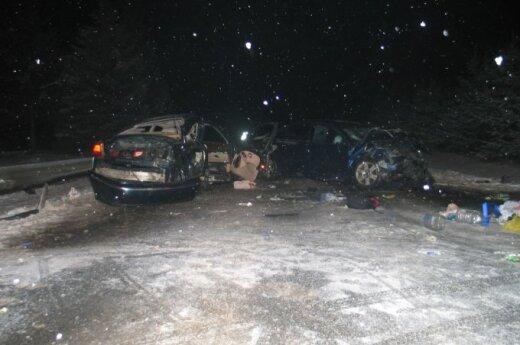 В аварии под Утеной погибли братик и сестричка