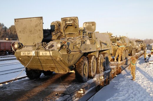 USA military moving to Rukla