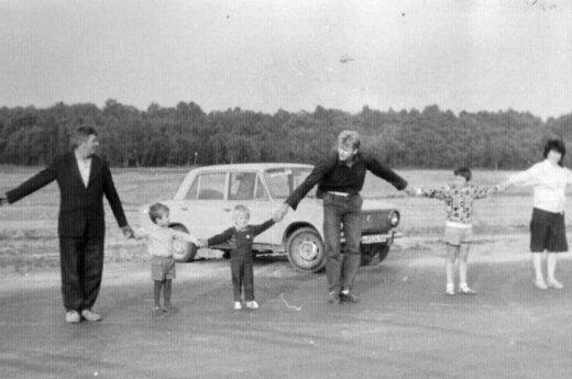 Brangus prisiminimas - Baltijos kelyje susipažinusių draugų nuotrauka