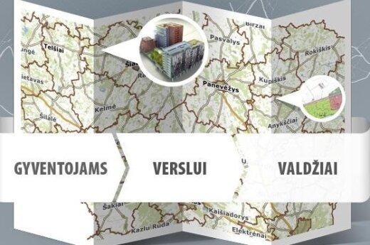 В интернете: интерактивные карты литовских городов
