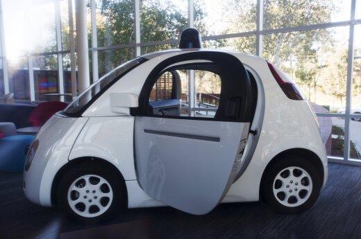"Autonomiškas ""Google"" automobilis"