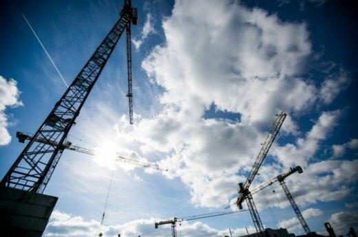 В Вильнюсе строят два новых дома