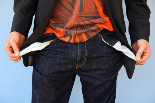 Tuščios kišenės