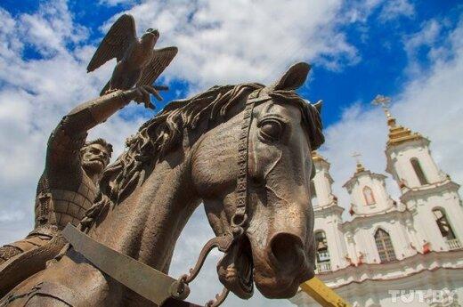 Monument for Grand Duke Algirdas in Vitebsk, Belarus. Photo by tut.by