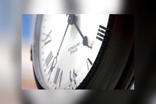 Laikas, laikrodis, ciferblatas