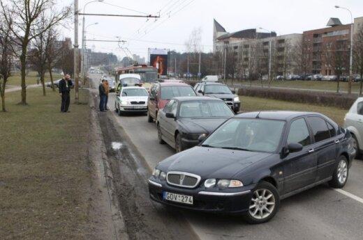 В Вильнюсе задержан наглый водитель BMW из Беларуси