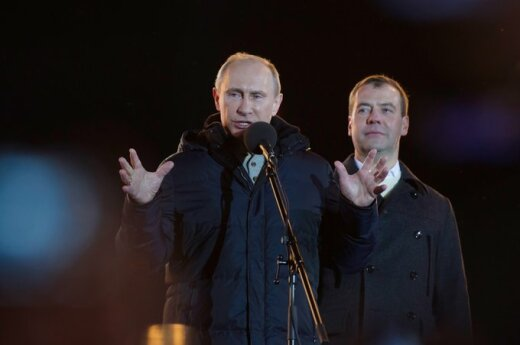 Rosja: Inauguracja (koronacja) Putina
