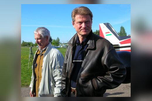 Vladimiras Makagonovas ir Rolandas Paksas