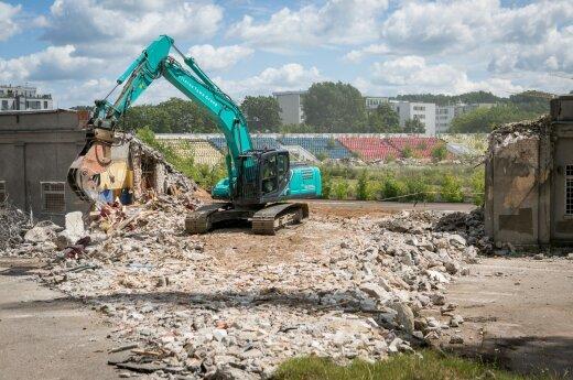 Pristato architektų siūlymus viešosioms erdvėms vietoje buvusio Žalgirio stadiono