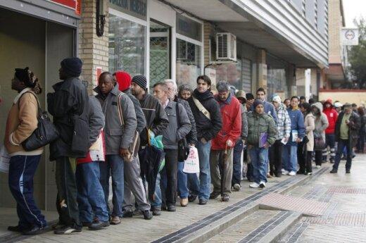 Lietuvoje - užprogramuota jaunų bedarbių armija