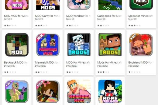 Minecraft, ESET nuotr.