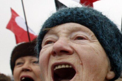 Акция протеста в Петербурге