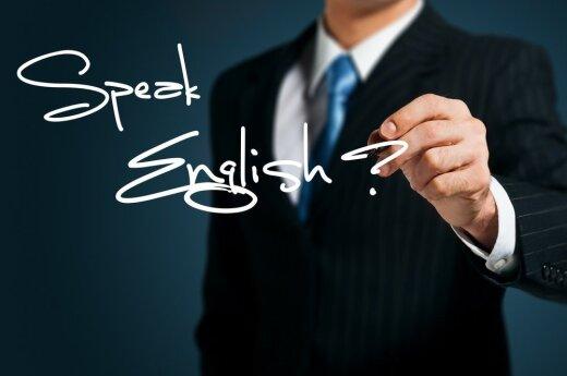 Najpopularniejszy język obcy - angielski. Drugi j. obcy na Litwie - rosyjski, w Polsce - niemiecki