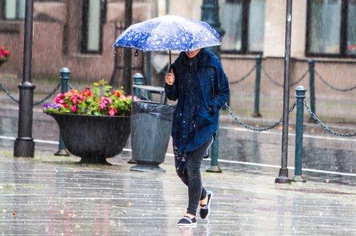 Погода, как осенью: ветер с дождем