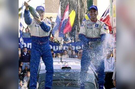 """""""Peugeot"""" pergalė"""