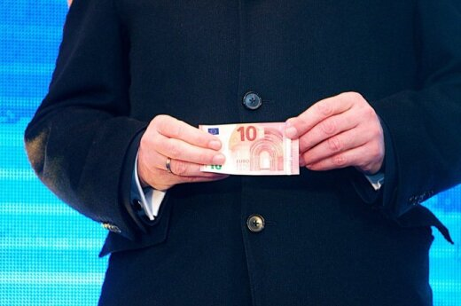 Lithuanians' support for euro rose to 60 percent