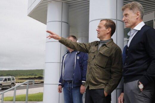"""СМИ: кедровую рощу под """"дачу"""" Медведева арендовали за 39 рублей в год"""