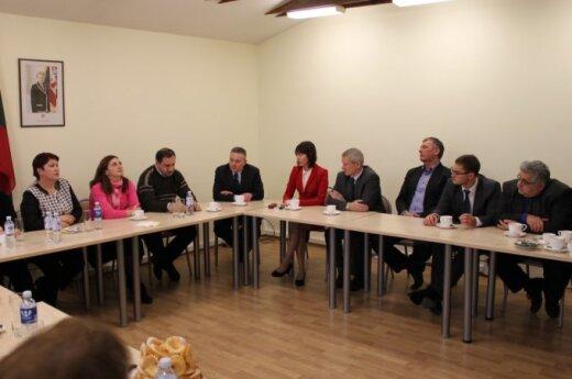 Uostamiesčio teisėjai diskutavo su kolegomis iš Gruzijos