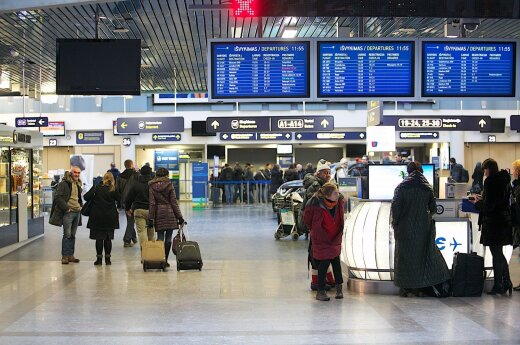 Passenger numbers up 17% at Lithuania's airports