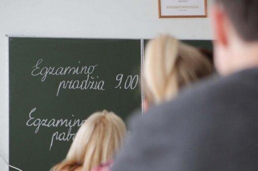 Abiturientas: anglų k. egzaminas - pasityčiojimas