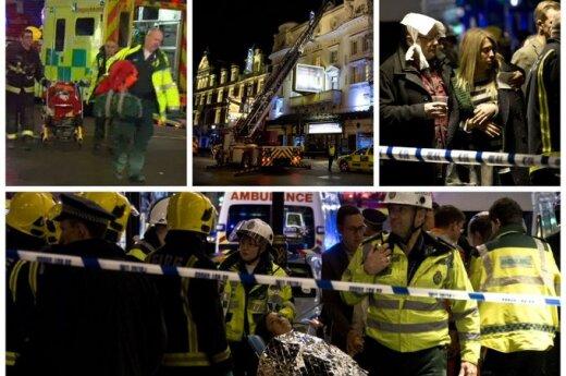 В лондонском театре упал потолок: пострадали 76 человек