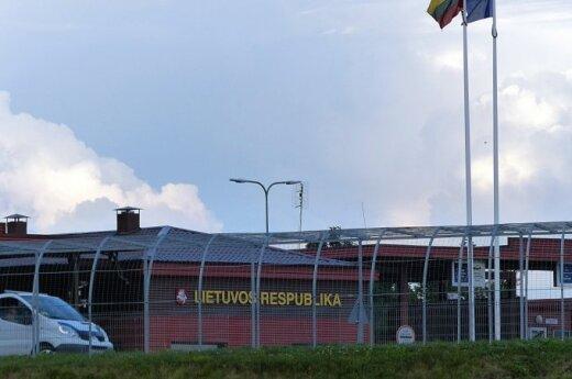 Lithuanian border post