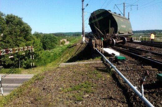 Traukinio avarija Kaišiadoryse