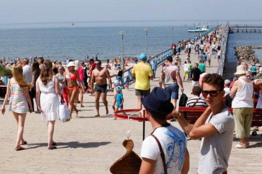 Belarusian tourists exchange Crimea for Lithuanian resorts