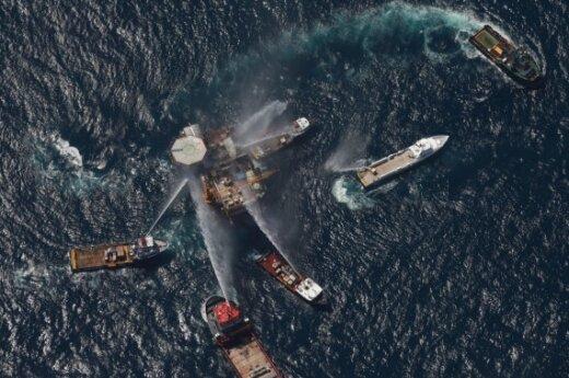 BP назвала виновных в аварии в Мексиканском заливе