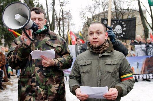 44 proc. mieszkańców Litwy jest przeciwnych marszom nacjonalistów