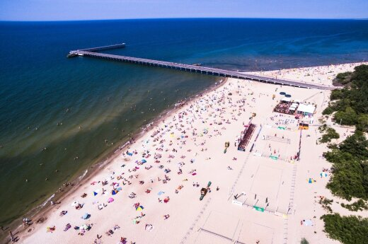 Lithuanians still love hitting the beaches
