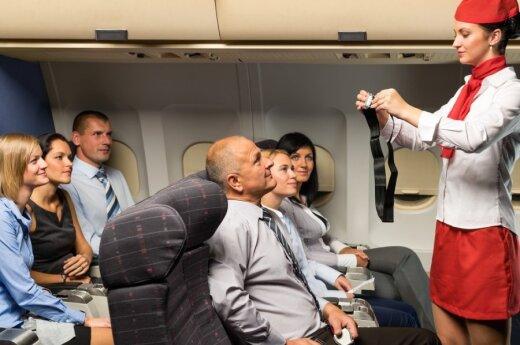 6 skrydžių palydovės patarimai, kad skrydis būtų malonesnis