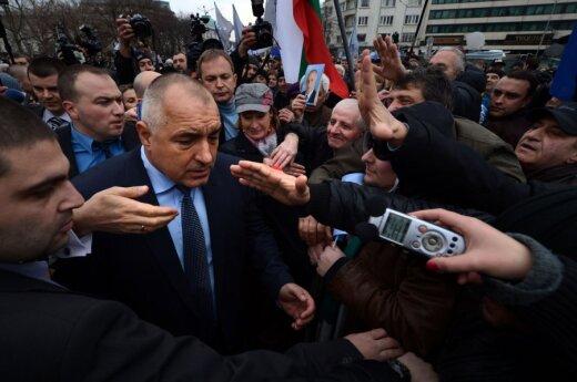 Atsistatydinęs Bulgarijos premjeras Boiko Borisovas susitinka su minia