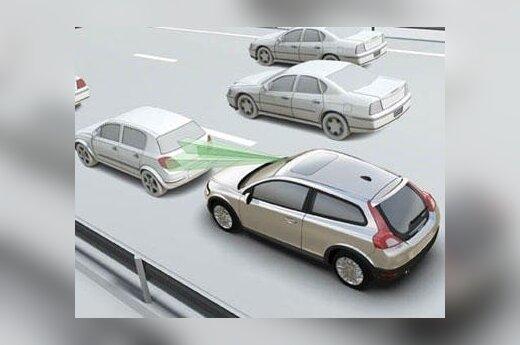"""""""Volvo"""" """"City Safety"""" sistema"""
