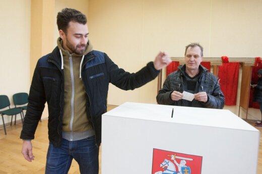 Second tour at the Seimas elections