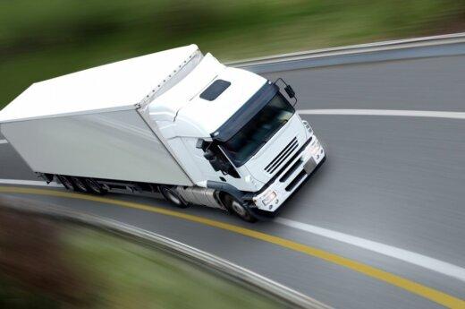 Litewski slalom ciężarowy na polskich drogach