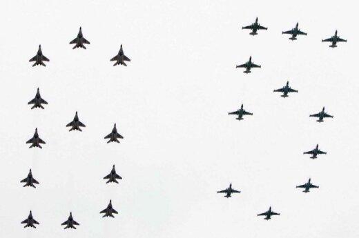 Japonijos kariuomenė apkaltino rusų lakūnus įsibrovus į jos oro erdvę