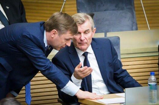 Seimo rinkimus siūloma rengti rugsėjo mėnesį