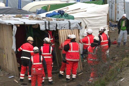 Teismas leido likviduoti Prancūzijos Kalė pabėgėlių stovyklą