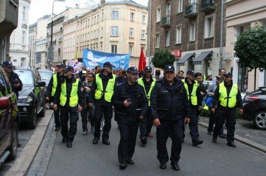 Policyjne zabezpieczenie szczytu NATO w Warszawie. Foto: policja.pl