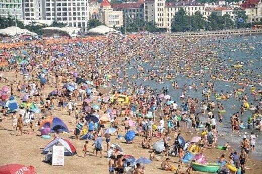 Lietuvio nuotykiai Kinijoje. Kiniškos vasaros ypatumai Čingdao mieste ant jūros kranto