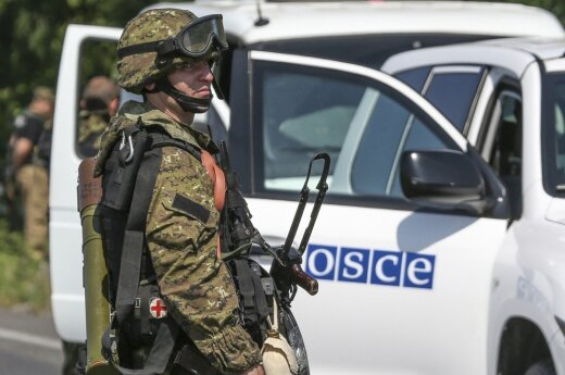 Lithuanian government to pay for 2 more diplomats in OSCE mission in Eastern Ukraine