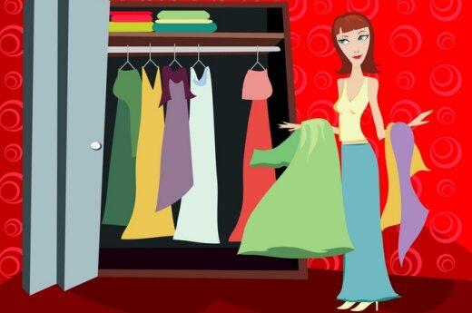 Как навести порядок в гардеробе?