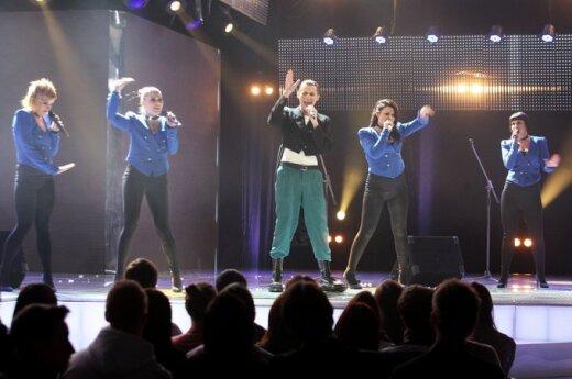 """Nacionalinės """"Eurovizijos"""" atrankos pirmojo pusfinalio dalyvių pasirodymai"""