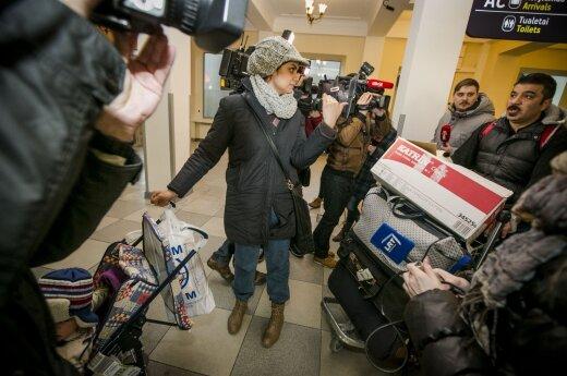 Pirmoji į Lietuvą atvykusi pabėgėlių šeima jau skundžiasi teismui