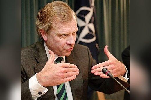 Генсек НАТО выступает за вывод из Молдавии войск РФ