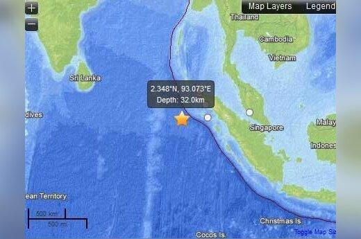 Indonezja: Potężne trzęsienie ziemi