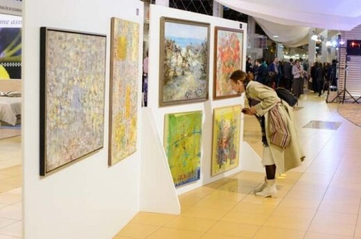 Аукцион работ литовских художников - в поддержку украинских военных