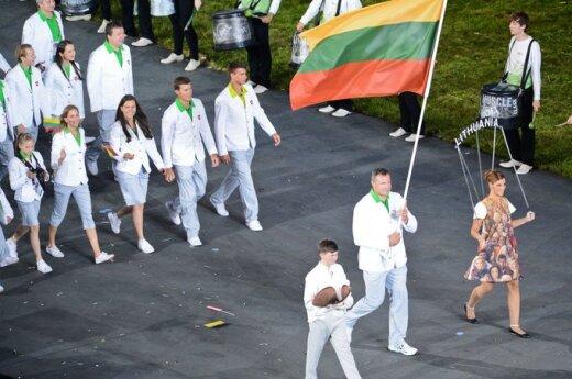 Londone iškilmingai atidarytos 30-osios vasaros olimpinės žaidynės